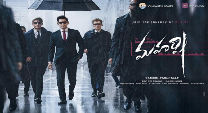 maharshi movie overseas box office collections