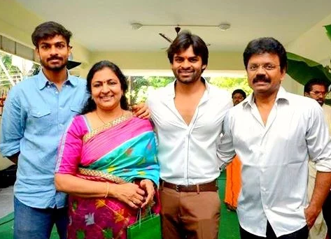 Saidharam Tej Parents Got Divorced And His Mother Got Remarried